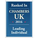 Chambers UK 2016, Leading Individual