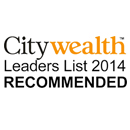 City wealth Leaders List 2014 Recommended Logo