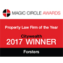 Citywealth Magic Circle Awards, Property Law Firm of the Year