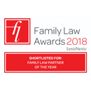 Family Law Awards 2018 - Shortlisted for: Family Law Partner of the Year