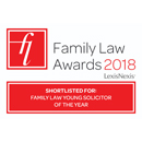 Family Law Awards 2018 - Shortlisted for: Young Solicitor of the Year