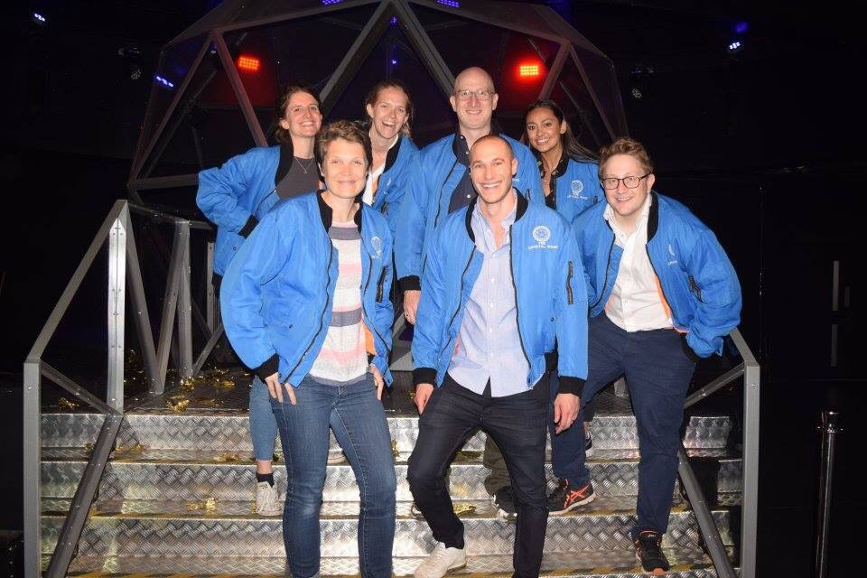 Forsters' Banking & Finance team at the Crystal Maze experience.