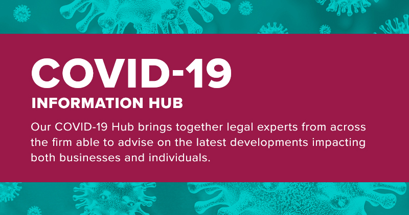 COVID-19 Information Hub - helping you and your business through this unprecedented time