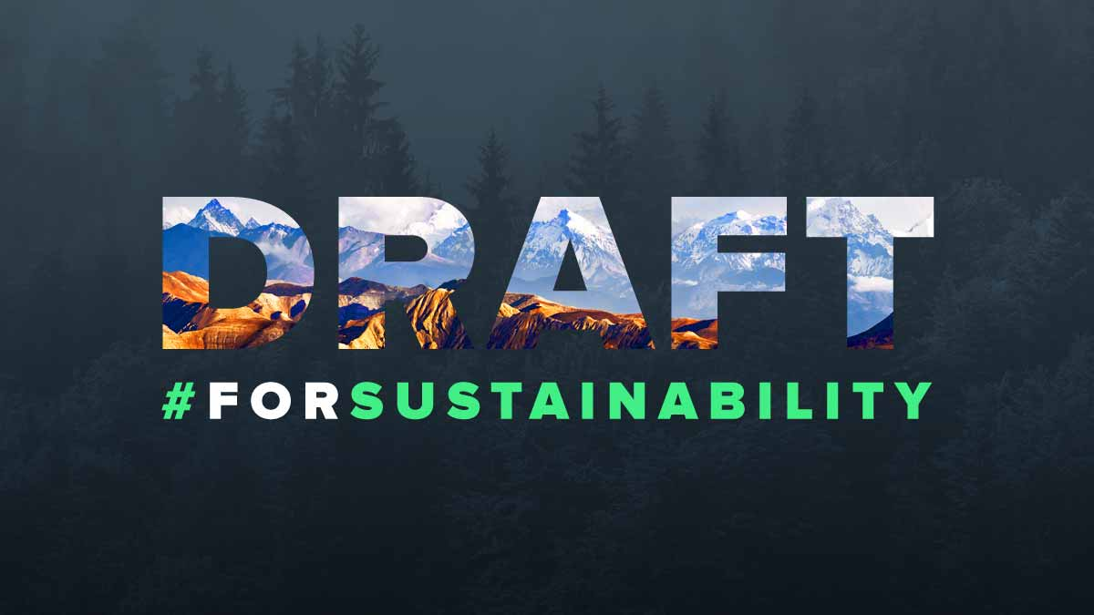 Drafting for Sustainability