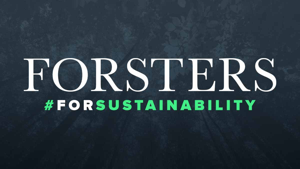 Forsters For Sustainability