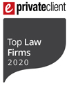 Forsters ranked as a Tier 1 firm in eprivateclient's Top Law Firms 2020 listing