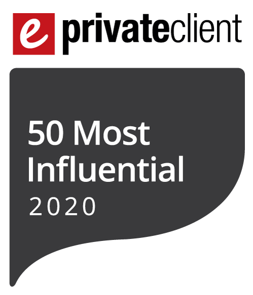 Nick Jacob recognised as one of eprivateclient's 2020 50 Most Influential