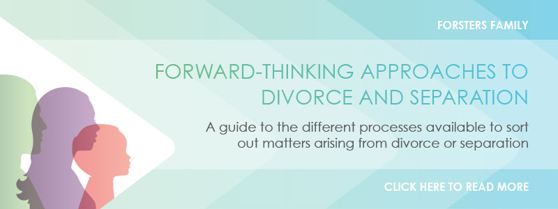 Forward Thinking Approaches to Divorce and Separation