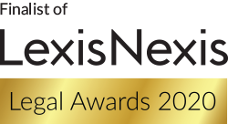 Forsters shortlisted for the LexisNexis Legal Awards 2020