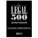 Legal 500 UK Leading Individual 2015