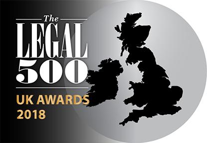 The Legal 500 UK 2018 Awards