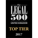 The Legal 500 UK 2017 - Top Tier