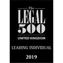 Legal 500 UK, Leading Individual 2019
