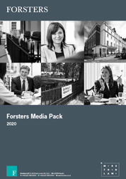 Forsters LLP Media Pack 2020