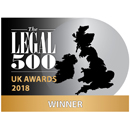 The Legal 500 UK Awards 2018 - Winner