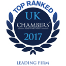 Chambers UK 2017 Leading Firm