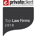 eprivateclient 2018 Top Law Firm