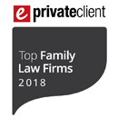 ePrivateClient Top Family Law Firm 2018