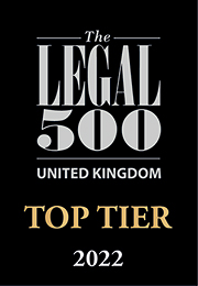 Forsters' Residential Property team is top ranked in the Legal 500 2022